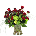 2748 - Astrid Rose Arrangement Santa Maria CA delivery.