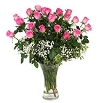 2765 - Blushing Rose Bouquet Santa Maria CA delivery.