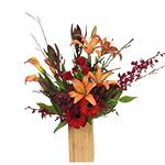 2794 - Zoey Vase Arrangement Santa Maria CA delivery.