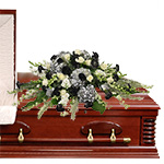 2802 - Raider's Theme Casket Spray Santa Maria CA delivery.
