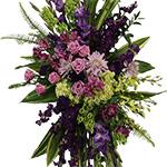 2805 - Lavender Standing Spray Santa Maria CA delivery.