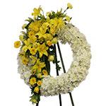 2822 - Carson Wreath Santa Maria CA delivery.