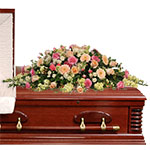 2866 - Bella Casket Spray Santa Maria CA delivery.