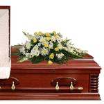 2877 - Bright Promise Casket Spray Santa Maria CA delivery.