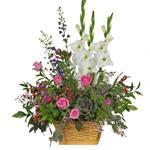 2888 - Spring Garden Basket Santa Maria CA delivery.