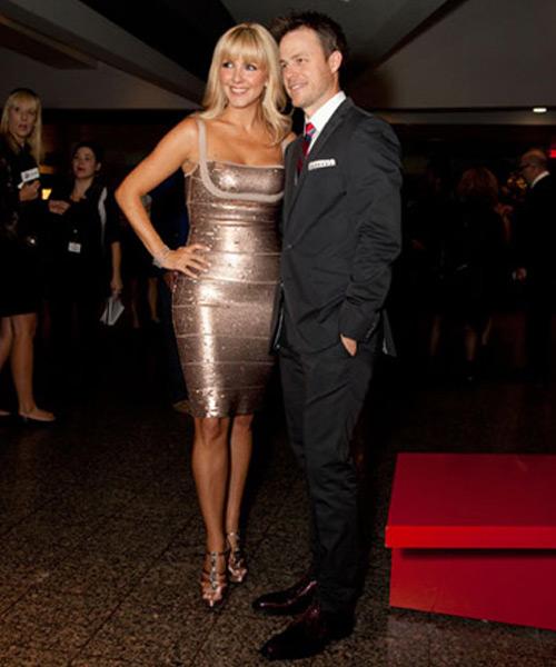 Véro et Louis au Gala des prix Gémeaux 2012