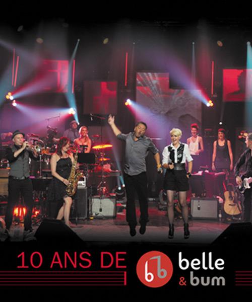 Livre 10 ans de Belle & Bum