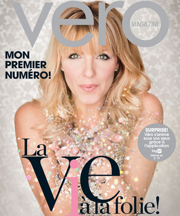 Couverture Véro magazine septembre 2013