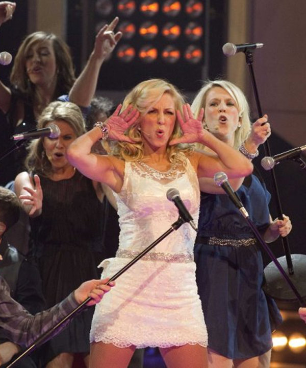 Véro au Gala des prix Gémeaux 2011