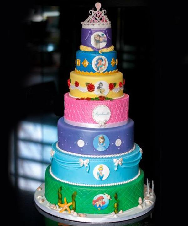 Gâteau princesse pour la fête de Raphaëlle