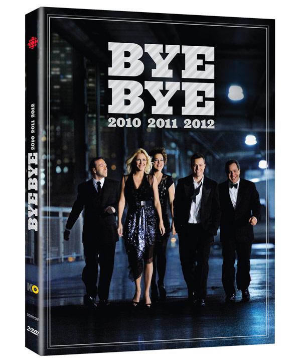 Coffret DVD des Bye Bye 2010 à 2012