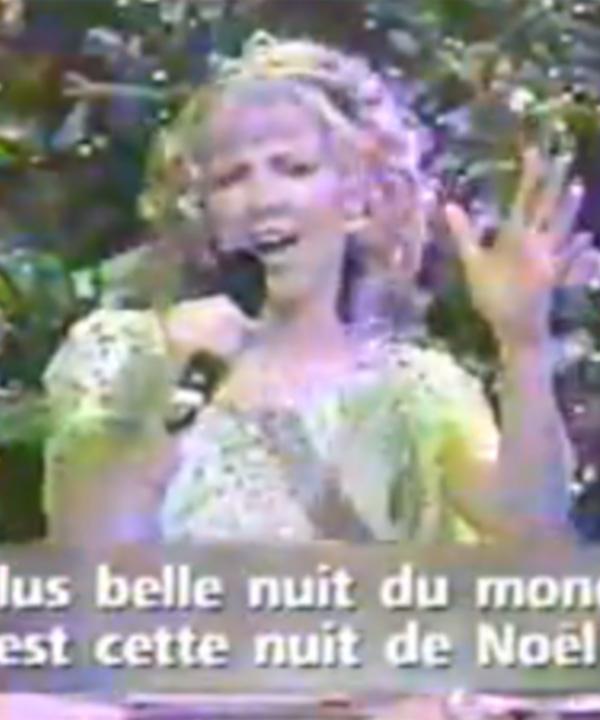 Véro chante Glory Alleluia à La Fureur en 1998