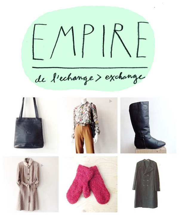 Boutique L'Empire de l'échange