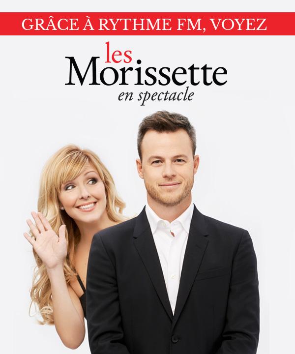 Voyez Les Morissette en spectacle grâce à Rythme FM!