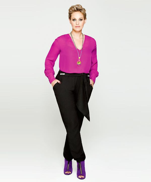 1 jupe et 1 pantalon, 4 looks