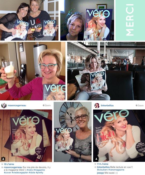 Lecteurs et lectrices du Véro magazine no3