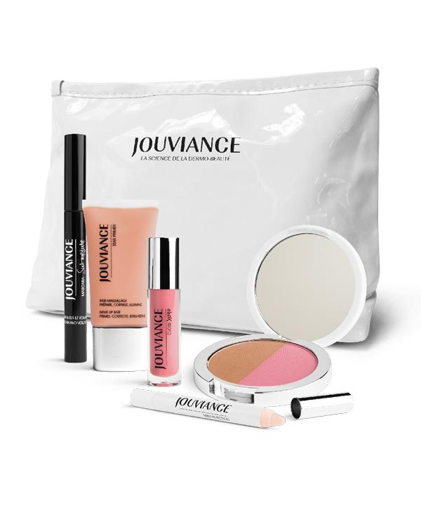 Gagnez une trousse maquillage remplie de produits Jouviance