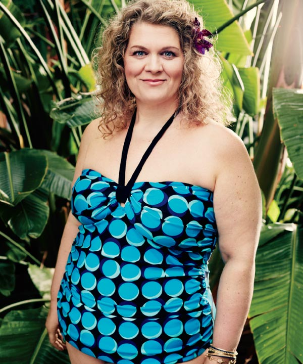 Maillots taille plus avec Guylaine Guay
