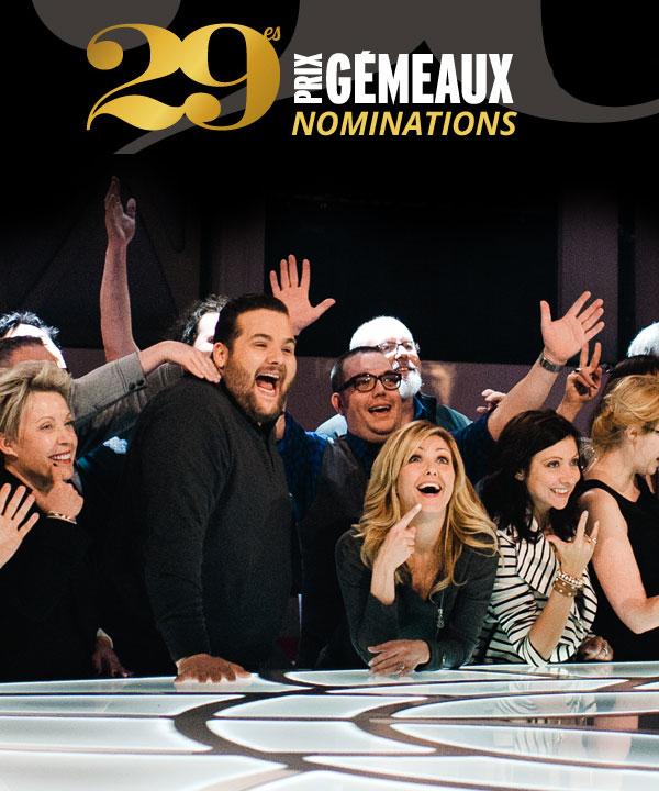 20 nominations pour Véro et Louis aux Prix Gémeaux 2014!
