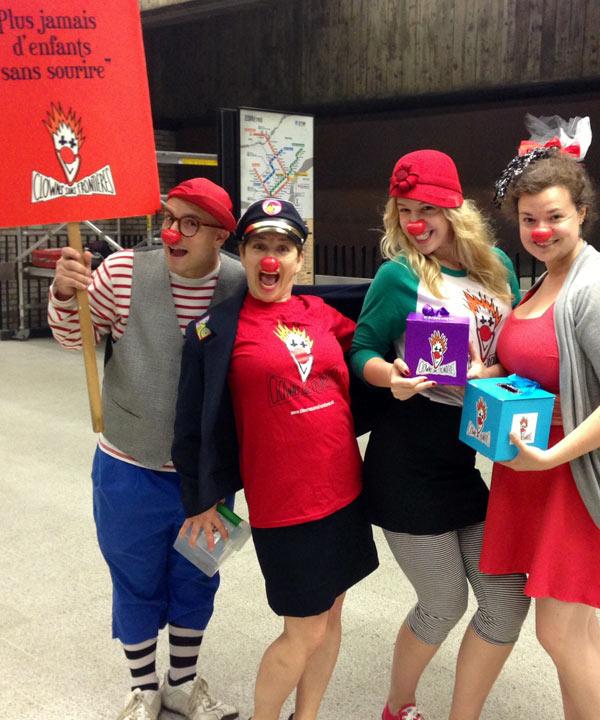 Faites appel à Clowns Sans Frontière pour égayer vos événements cet été!