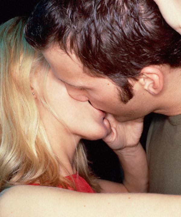 Le baiser, baromètre de l'amour