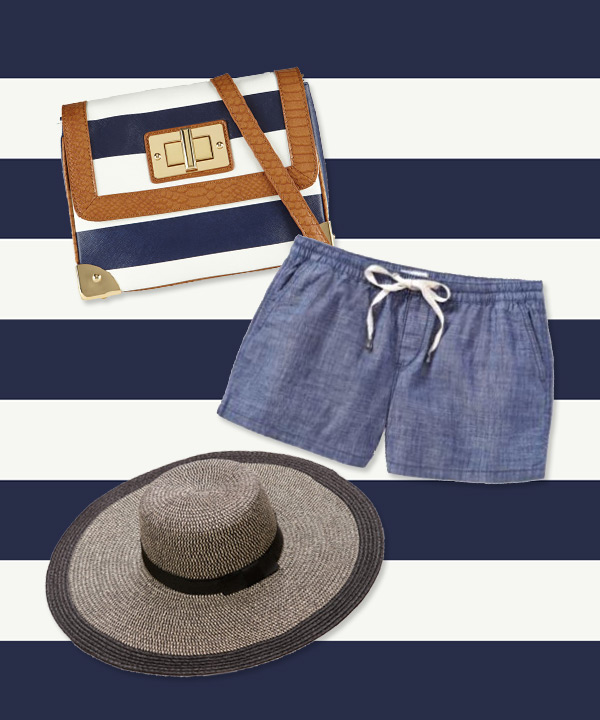 Shopping mode: le look de plage aux allures marines