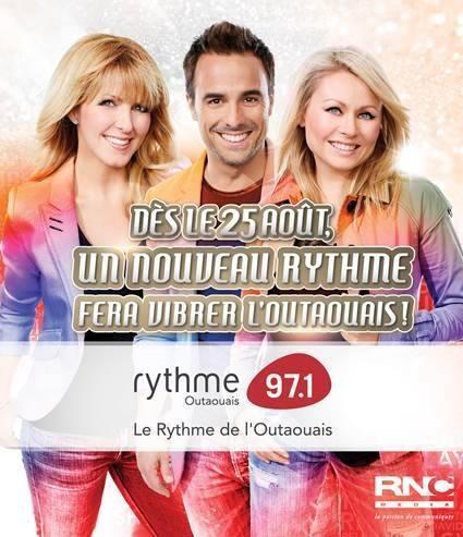 Rythme FM en Outaouais