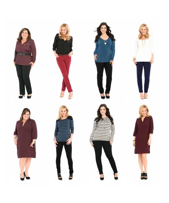 La collection Véro: des vêtements pour toutes les silhouettes