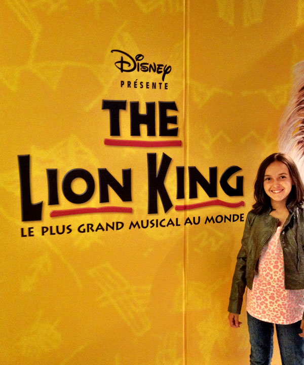 Disney « The Lion King » : tout un spectacle!