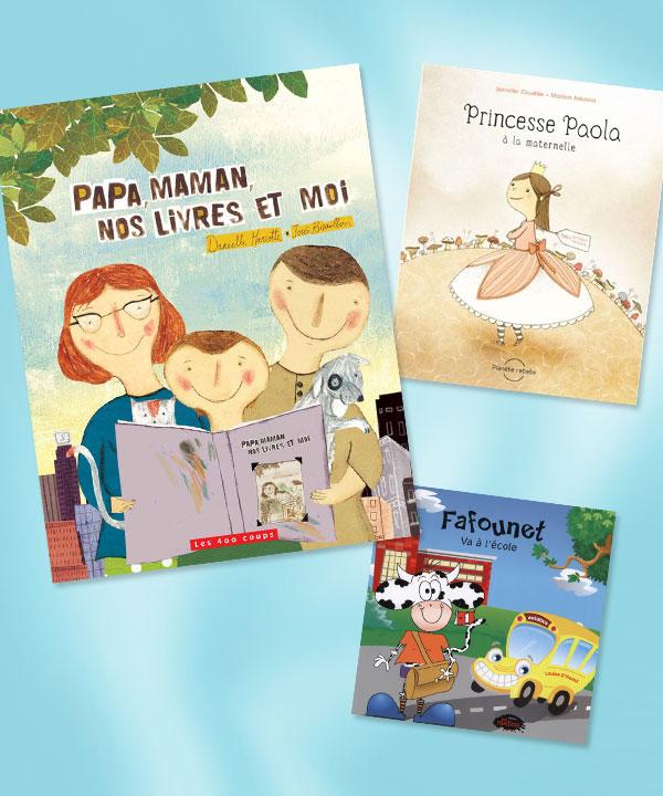 6 suggestions de livres québécois pour la rentrée scolaire