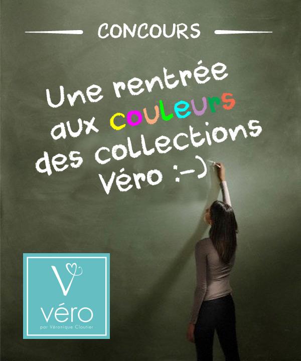 Une rentrée aux couleurs des Collections Véro!