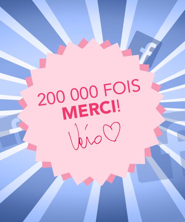 Concours 200 000 fois merci!