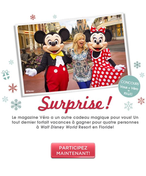 Des vacances magiques à Walt Disney World avec Véro!
