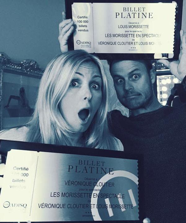 Véro et Louis récoltent un billet platine pour Les Morissette!