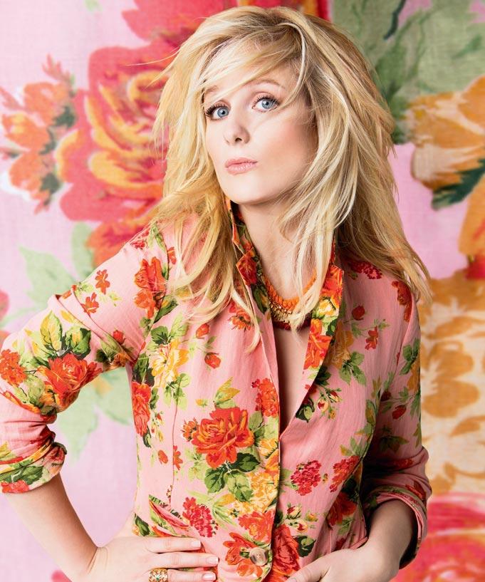 Mode fleurie avec Marie-Soleil Dion