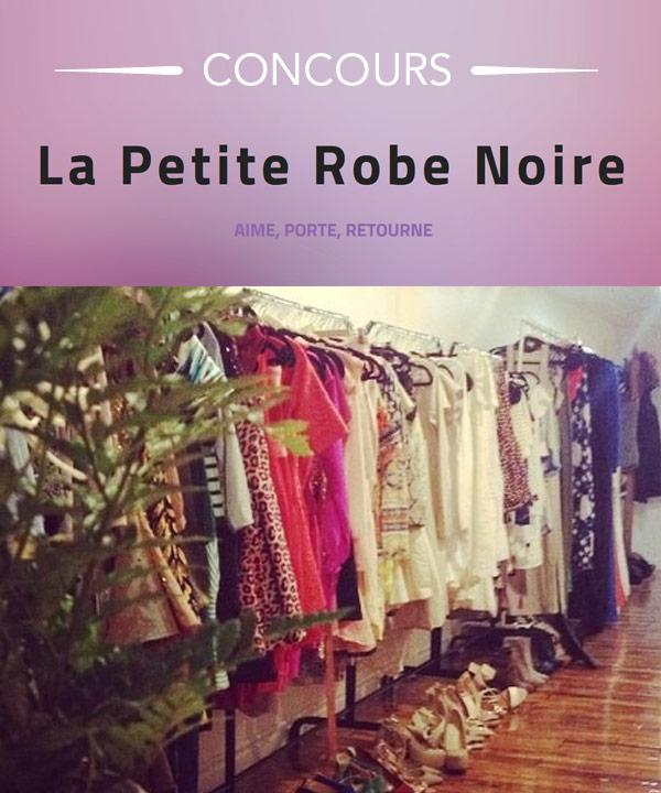 Gagnez un chèque-cadeau de 75$ chez La Petite Robe noire