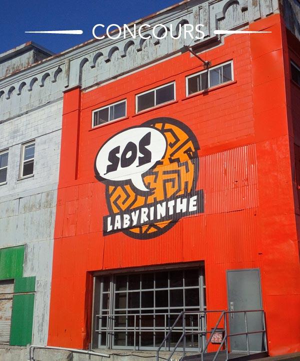 Gagnez un forfait famille au nouveau SOS Labyrinthe!
