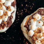 Minipizzas de s'mores de Marilou