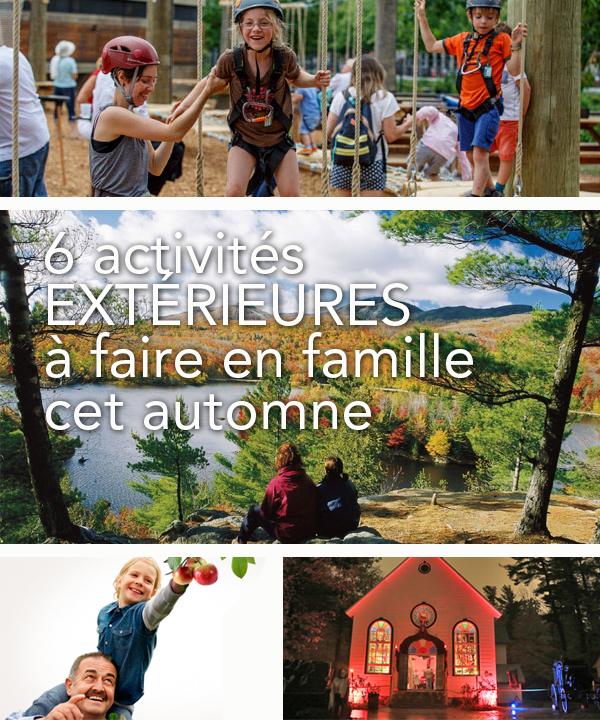 6 activités extérieures à faire en famille cet automne