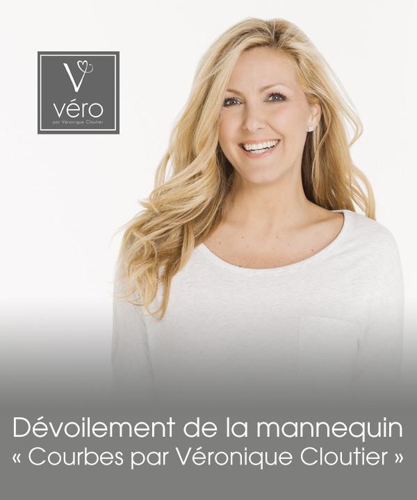 """Dévoilement de la mannequin """"Courbes par Véronique Cloutier"""""""