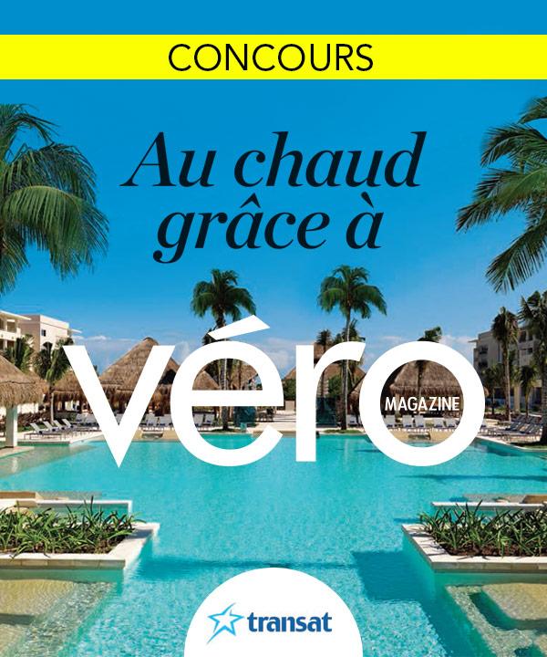 Au chaud grâce à Véro magazine!