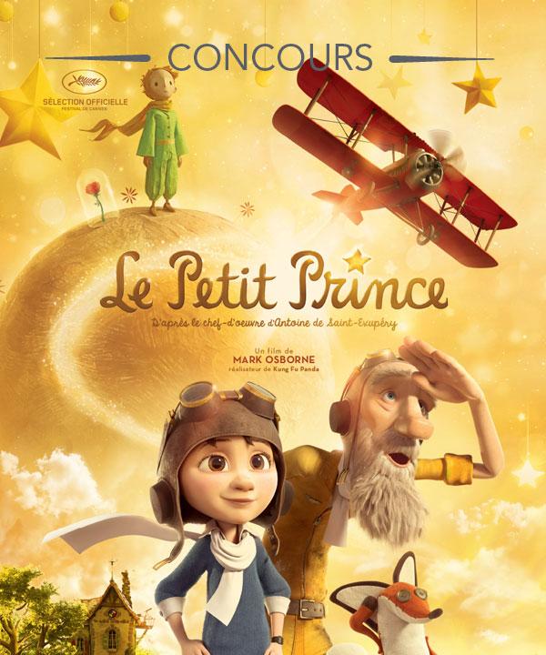 Gagnez un ensemble-cadeau du film Le Petit Prince