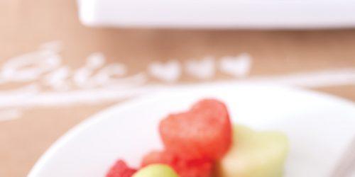 Fruits en forme de cœur pour la Saint-Valentin