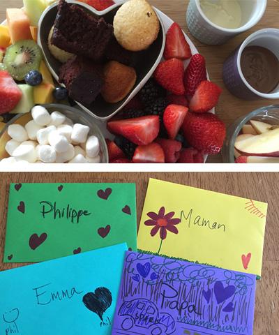 Notre rituel familial à la Saint-Valentin