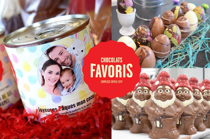 panier-cadeau Chocolats Favoris