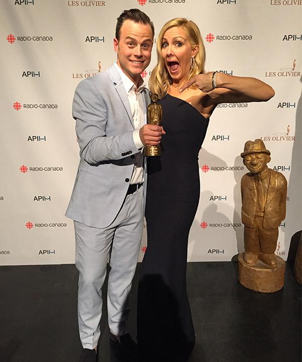 «Les Morissette» remporte l'Olivier Spectacle d'humour / Meilleur vendeur