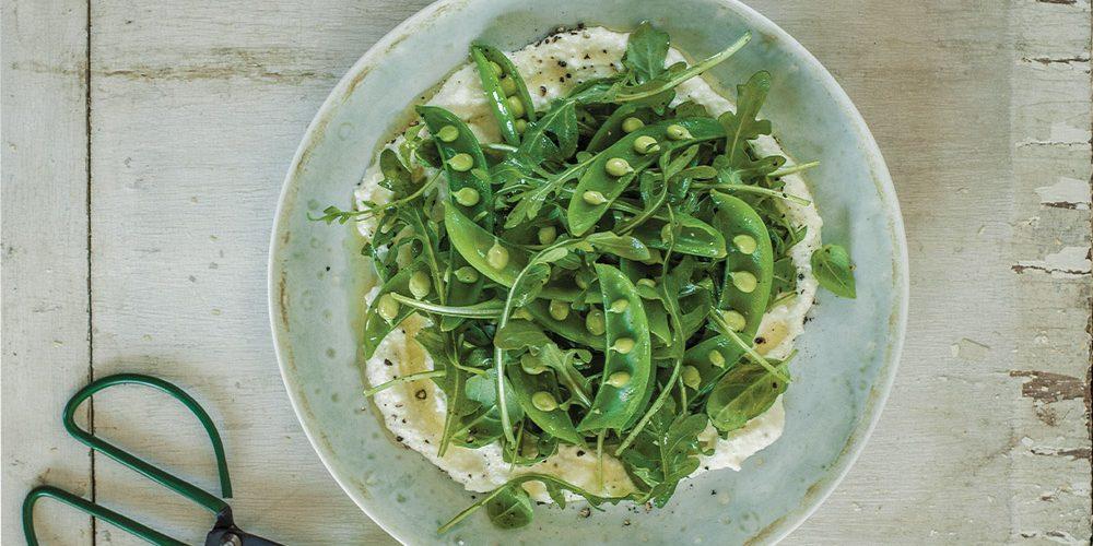 Pois Sucrés salade croquante de pois sucrés de josée di stasio - véronique cloutier