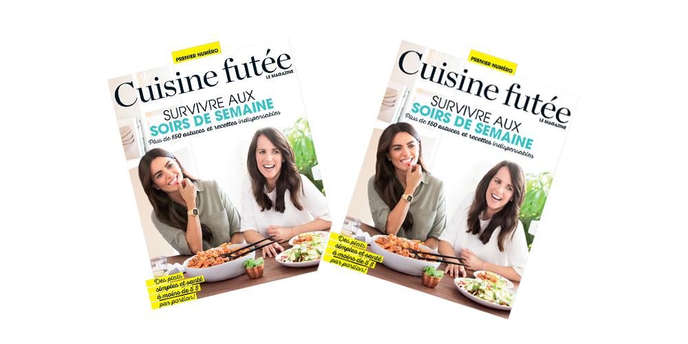 Premier Numero Du Magazine Cuisine Futee Veronique Cloutier