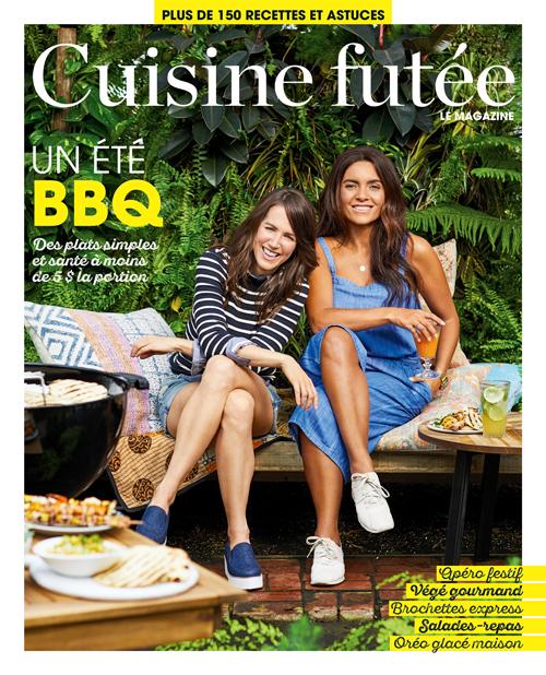 Magazine Cuisine Futee No3 Un Ete Bbq Veronique Cloutier