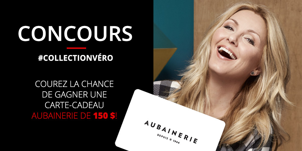 gagnez une carte cadeau de 150 chez aubainerie v ronique cloutier. Black Bedroom Furniture Sets. Home Design Ideas
